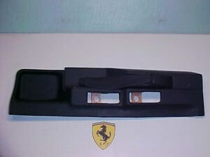 Ferrari Testarossa Handbrake Console_630573_512 TR_NEW_OEM_Leather_Nero