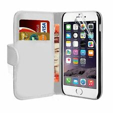 FOR APPLE IPHONE 7 PLUS - Flip Magnetic Closure Wallet Leather Case Cover