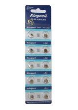 10 X pilas de botón alcalinas AG3 LR41 392 SR41 192 en blister / 10 pilas 1,5V