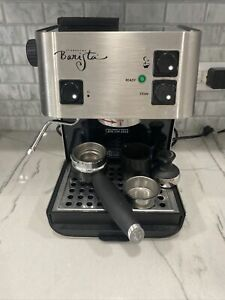 Starbucks Barista Saeco Italy Expresso Machine SIN006 Stainless Working