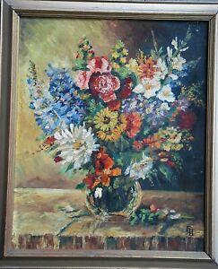 Hennig Fritz Leopold *1895 Danzig +1951 Dresden tät. Dresden Zoppot Blumenpracht