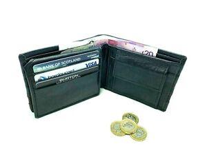 AIAKU  Men's  Soft   Leather  Wallets  Crocodile  Strip  bifold  Coin  Pocket