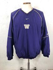 Nike University of Washington Huskies Team Jacket, Size XL vintage