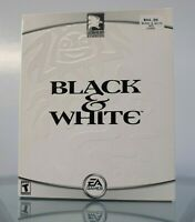 Black & White PC CD-ROM Lionhead EA Electronic Arts 2001 Big Box Sealed