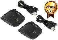 2-Pack Charger Charging Dock Cradle For Samsung Galaxy Gear S R750 Smart Watch