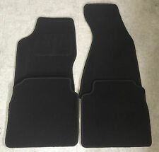 Autoteppiche Fußmatten für Audi 80 B4 Cabrio 1991-94 schwarz 4tlg nicht original