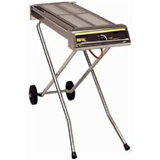 More details for buffalo folding propane gas barbecue on wheels - p111  catering bbq commercial