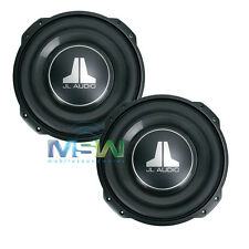 "(2) JL AUDIO 10TW3-D4 10"" TW3 THIN-LINE SHALLOW MOUNT CAR SUBWOOFERS SUBS *PAIR*"