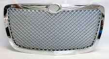 Chrome Honeycomb Mesh Front Grill Fits Chrysler 300 300C 2005-2010