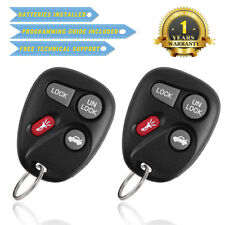 2 for Chevy Impala Monte Carlo 2001 2002 2003 2004 2005 Keless Entry Remote Key