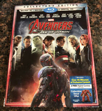 Avengers: Age of Ultron (Blu-ray Only W/Slipcover, 2015) No Digital Code