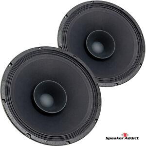 "Pair Eminence Made SA-Beta-12LTA 12"" Full-Range Driver 8 ohm 98dB Speaker"