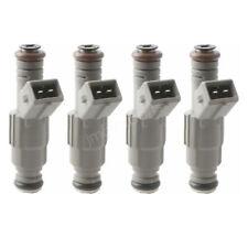 4pcs/kit 24lb Fuel Injectors Fits BMW Ford M10 Turbo DOHC 420a 250cc/min TT