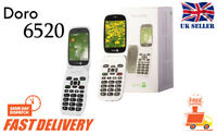 New Doro Phone Easy 6520 Flip Fold 3G Large Display Big Buttons Unlocked Phone