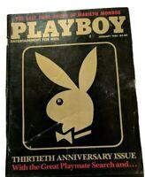 Playboy January 1984 Marilyn Monroe Last Nude Ray Bradbury Roy Blount A Warhol