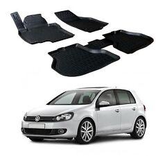 SCOUTT 3D TAPPETI TAPPETINI AUTO IN GOMMA SU MISURA per VW Golf VI 2008 - 2013