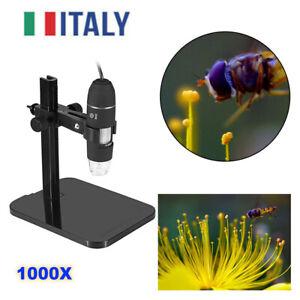 1000X Microscopio Digitale Endoscopio Elettronico 8 LED USB 2.0 Per Android F1X3