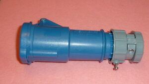 MENNEKES 3954 PowerTOP Series IP44 Blue Cable Mount 3PIN Industrial Power Socket