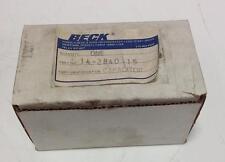 BECK 370V 25uF CAPACITOR NIB 14-2840-15