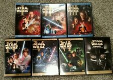 STAR WARS DVD Trilogy Complete Saga Own All 6 Fullscreen Movies on 10 Discs 1 -6