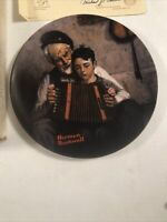 Norman Rockwell The Music Maker 1981 Plate# 8311 K