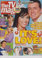 The TV Mag (The Sun) 21 June 2003, Eastenders, Kat and Alfie