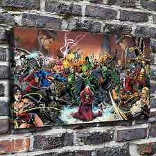 Comics justice league Painting HD Print on Canvas Home Decor Wall Art Pictures