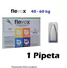 Pipeta FLEVOX 4,02 ml anti pulgas y garrapatas fipronilo para perros de 40-60kg