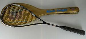 Black Knight Squash Racquet ESP-6610 OMEN Modulus Graphite w/ Case