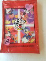 Vintage 30 HALMARK MICKEY & CO. VALENTINES CARDS CLASSROOM EXCHANGE  NIB