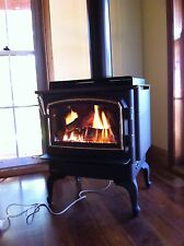 Regency  F33  Freestanding Natural Gas Log Fire Fireplace Heater Stove