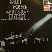 """Erroll Garner Amsterdam Concert 1964 LP 12"""" 33rpm Netherlands Fontana vinyl (p)"""