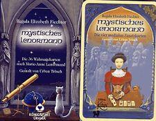 MYSTISCHES LENORMAND + MEDIALE ZUSATZKARTEN - Regula E. Fiechter - NEU