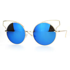 e45af77562 Round Mirrored Sunglasses for Women