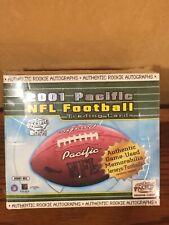 2001 PACIFIC NFL FOOTBALL SEALED BOX (HOBBY)