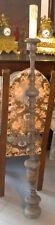 CANDELABRO D'EPOCA in legno  altezza cm. 155