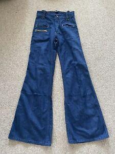 Vintage 70's High Waisted Flares Denim Jeans