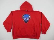 Gildan Buffalo Bills - Men's Red Cotton Sweatshirt (2XL) - Used