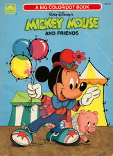 Mickey Mouse coloring book RARE