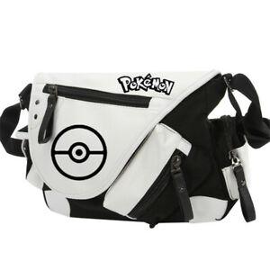 Pokémon Pikachu Charizard Poké Ball Men Women Cross Body Shoulder Bag Handbag