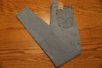 NWT WOMEN'S LEVI JEANS 710 Multiple Sizes Super Skinny Mid Rise $59.50
