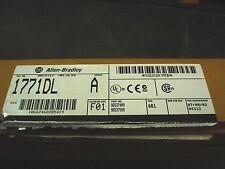 A-B 1771DL A encoder module series A rev F01 - 1771-DL - 60 day warranty