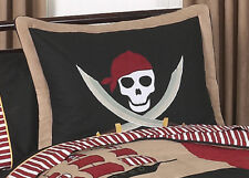 Pillow Case Sham for Sweet Jojo Designs Treasure Cove Pirate Boy Kid Bedding Set