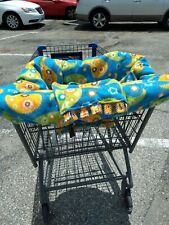 Grocery Cart Cover For Baby Shopping Toddler Washable Hand Made fleece unisex