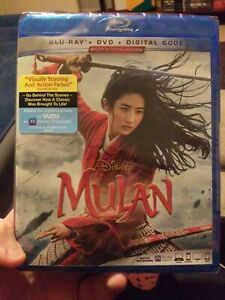 Mulan (Blu-ray, DVD, And Digital) 2020 Live Action