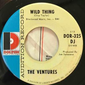 VENTURES Wild Thing / Penetration DOLTON DJ PROMO w/Company Sleeve