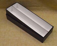 "2x2 14"" DOUBLE ROW STORAGE BOX - BLACK (20% Off Retail Price)"