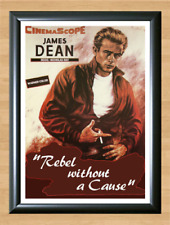 Rebel Without a Cause Large Movie Poster James Dean A4 Print Poster Picture Wall