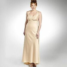 Satin Dry-clean Only Formal Plus Size Dresses for Women