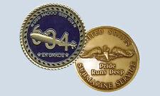 USS Haddo SSN 604 Submarine Challenge Coin USN Navy Sub